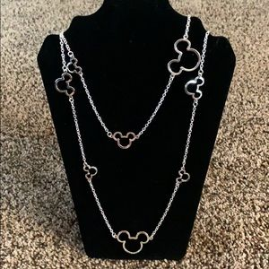 Infinity Wrap Mickey Mouse Necklace